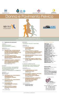 Donna e pavimento pelvico - 6 Novembre 2015 - Matera