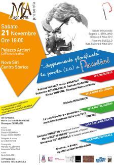 Doppiamente glorificata. La parola (2.0) a Pasolini - 21 Novembre 2015 - Matera
