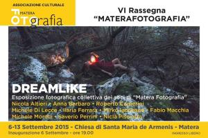 DREAMLIKE - Materafotografia 2015 - Matera
