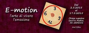 E-motion. L'arte di vivere l'emozione  - Matera