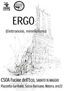 Ergo live - 16 Maggio 2015 - Matera