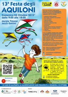 Festa degli Aquiloni 2015 - 4 Ottobre 2015 - Matera