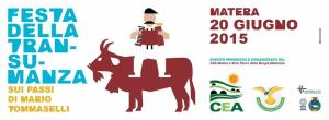 Festa della Transumanza 2015 - 20 Giugno 2015 - Matera