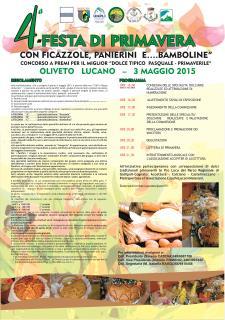 Festa di Primavera con Ficazzole, Panierini e bamboline - 3 Maggio 2015 - Matera