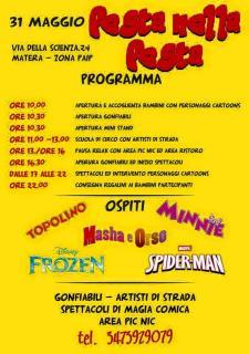 Festa nella Festa - 31 Maggio 2015 - Matera