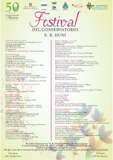 Festival Conservatorio di Musica di Matera per il cinquantenario  - Matera