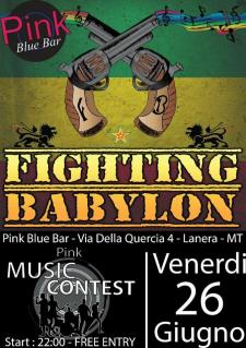 FIGHTING BABYLON - Pink Music Contest - 26 Giugno 2015 - Matera
