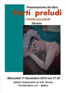 Forti preludi   - 11 Novembre 2015 - Matera