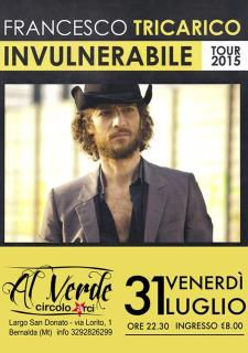 Francesco Tricarico live - 31 Luglio 2015 - Matera