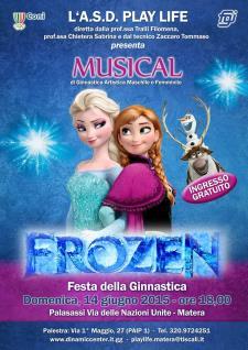 Frozen - 14 Giugno 2015 - Matera