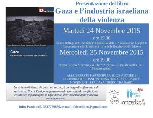 Gaza e l'industria Israeliana della violenza - 25 Novembre 2015 - Matera