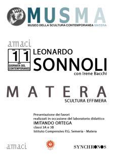 Giornata del Contemporaneo XI edizione  - 10 Ottobre 2015 - Matera
