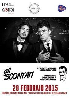 Gli Scontati - 28 Febbraio 2015 - Matera