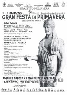 Gran Festa di Primavera XI edizione - 21 Marzo 2015 - Matera