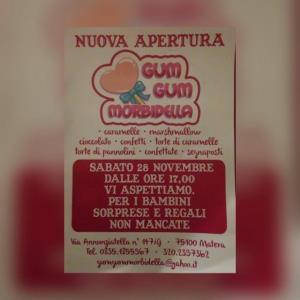 Gum Gum Morbidella - Matera