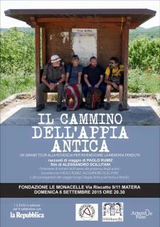 Il Cammino dell'Appia antica - 6 Settembre 2015 - Matera