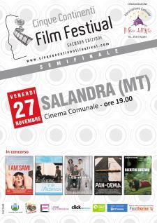 Il Cinque Continenti Film Festival giunge alla fase delle semifinali - Matera