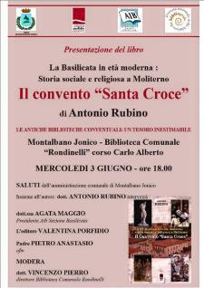 """Il convento """"Santa Croce"""" - 3 Giugno 2015 - Matera"""