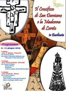 Il Crocifisso di S. Damiano e la Madonna di Loreto  - Matera