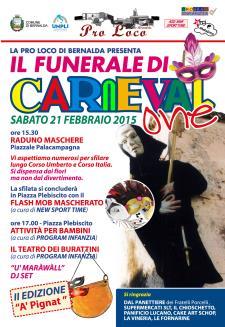 Il Funerale di Carnevalone - 21 Febbr - Matera