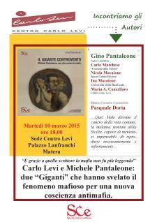 Il Gigante Controvento di Gino Pantaleone - Matera