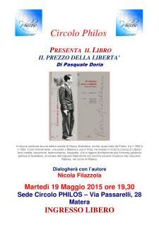 Il Prezzo della libertà - 25 Marzo 2015 - Matera