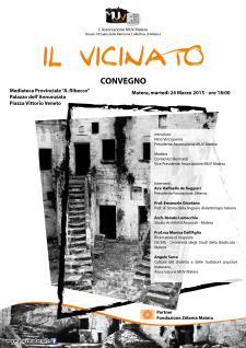 Il Vicinato - 24 Marzo 2015 - Matera