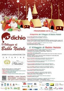 Il Villaggio di Babbo Natale 2015 - Matera