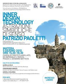 Inner Design Technology: astrazioni simboliche di senso - 5 Giugno 2015 - Matera