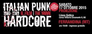Italian Punk Hardcore - 17 Ottobre 2015 - Matera
