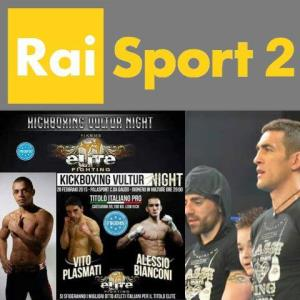 Kickboxing Vultur Night su Rai Sport 2 - Matera