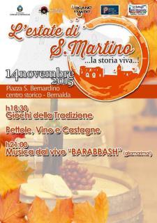 L'Estate di San Martino  - 14 Novembre 2015 - Matera
