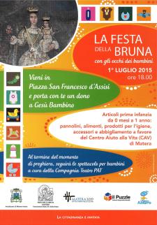 La Festa della Bruna con gli occhi dei bambini - 1 Luglio 2015 - Matera