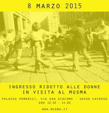 La Festa della Donna 2015 al Musma - Matera