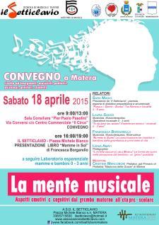 La mente musicale - 18 Aprile 2015 - Matera
