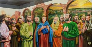 La Pentecoste e Giovanni l'Evangelista  - Matera