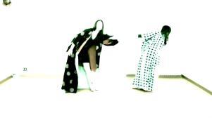 Le ballerine Iacovone e Aloia nel video di Fabrik Nomade - Matera