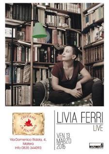 Livia Ferri live - 13 Marzo 2015 - Matera