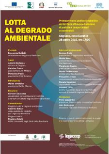 Lotta al degrado ambientale - 28 Aprile 2015 - Matera
