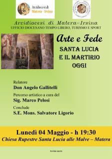 Luce nella fede - Santa Lucia e il martirio oggi  - Matera