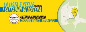 M5S incontra i Cittadini di Matera  - Matera