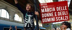 Marcia delle donne e degli uomini scalzi - 11 Settembre 2015 - Matera