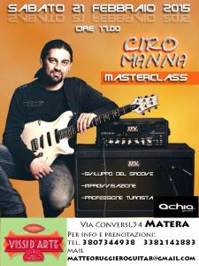 Masterclass con Ciro Manna  - Matera