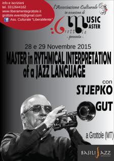 Masterclass in Stjepko Gut - Matera