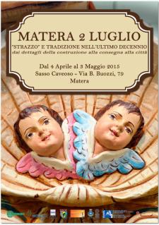 Matera 2 Luglio - Strazzo e tradizione nell'ultimo decennio  - Matera