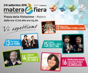 Matera è Fiera 2015 - Matera