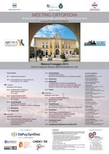Meeting Ortopedia - 9  Maggio 2015 - Matera