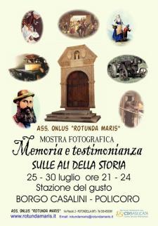 Memoria e testimonianza - Sulle ali della storia - Matera
