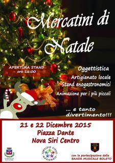 Mercatini di Natale 2015 - Matera