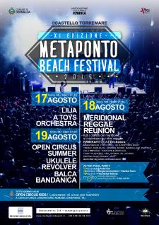 Metaponto beach festival 2015 - Matera